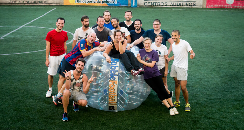 Bubble Foot à Barcelone